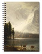 Estes Park Colorado Whytes Lake Spiral Notebook
