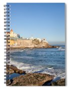 Estoril Coastline In Portugal Spiral Notebook