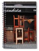 Estrella Galicia Spiral Notebook