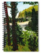 Estuary In Oregon Spiral Notebook