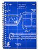 Etch A Sketch Patent 1959 - Blue Spiral Notebook