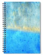 Eternal Blue - Blue Abstract Art By Sharon Cummings Spiral Notebook