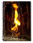 Eternal Flame  Spiral Notebook