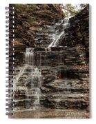 Eternal Flame Waterfalls Spiral Notebook