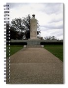 Eternal Light Peace Memorial Spiral Notebook