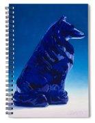 Eternally Blue Spiral Notebook