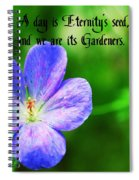 Eternity's Seed Spiral Notebook