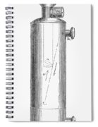 Ether Inhaler, 1847 Spiral Notebook