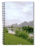 Ethereal China Spiral Notebook
