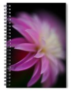 Ethereal Dahlia Spiral Notebook
