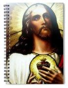 Ethereal Jesus Spiral Notebook