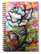 Ethereal Rose Spiral Notebook