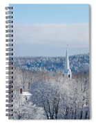 Ethereal Steeple Spiral Notebook