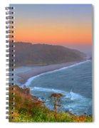 Ethereal Sunset Spiral Notebook