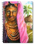Ethiopia Bride Spiral Notebook