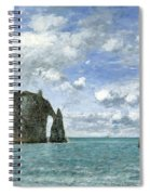 Etretat. The Cliff Of Aval Spiral Notebook