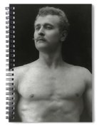 Eugen Sandow Spiral Notebook