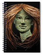 Euphrosyne Of The Three Graces Spiral Notebook