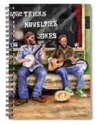 Eureka Springs Novelty Shop String Quartet Spiral Notebook