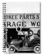 Evans Garage, 1936 Spiral Notebook