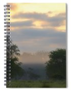 Evaporation Spiral Notebook