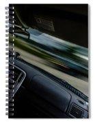 Evasive Maneuver Spiral Notebook