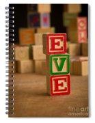 Eve - Alphabet Blocks Spiral Notebook