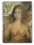 Eve Naming The Birds Spiral Notebook