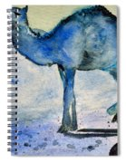 Even Camels Get The Blues Spiral Notebook