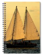 More Sails In Key West Spiral Notebook
