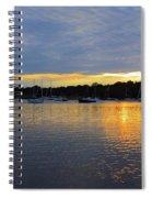 Evening Approaches Spiral Notebook