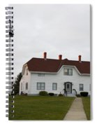 Evening At Chatham  Lighthouse Spiral Notebook