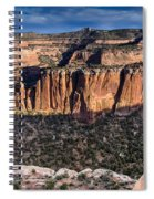 Evening At Colorado National Monument Spiral Notebook