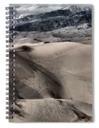 Evening At The Dunes Spiral Notebook
