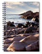 Evening At The Sea Spiral Notebook