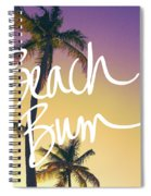 Evening Beach Bum Spiral Notebook