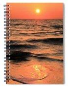 Evening Beach Stroll Spiral Notebook