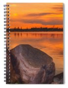 Evening Beauty Spiral Notebook