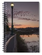 Evening By The River Spiral Notebook