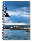 Evening Calm At Lyme Regis Spiral Notebook