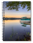Evening Calm Spiral Notebook