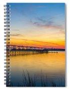 Evening Color Spiral Notebook