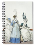 Evening Dresses For The Opera Spiral Notebook
