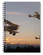 Evening Flight Spiral Notebook
