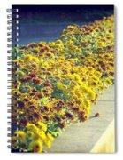 Evening Flowers Spiral Notebook
