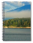 Evening Fog Spiral Notebook