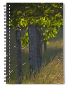 Evening Hunt Spiral Notebook