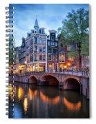 Evening In Amsterdam Spiral Notebook