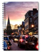 Evening In Annapolis Spiral Notebook