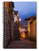 Evening In Cusco  Spiral Notebook